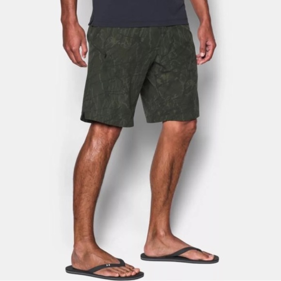 bf994bf80ec40 UA Reblek Camo Printed Board Shorts Under Armour